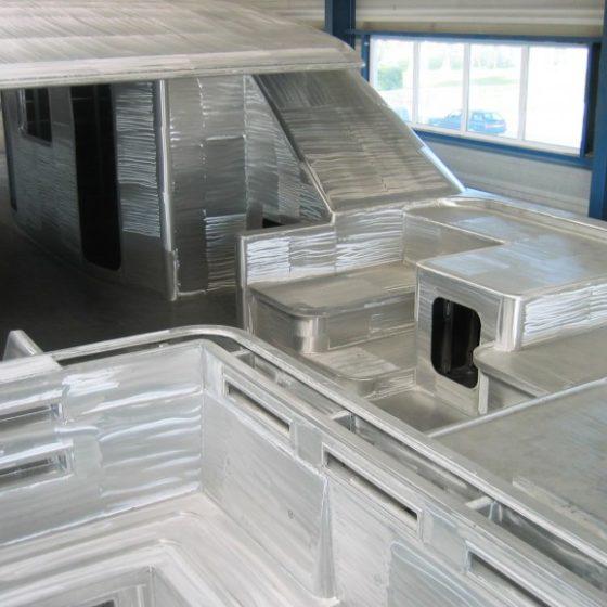 Opbouw megajacht BN 49 – 2007 - 2